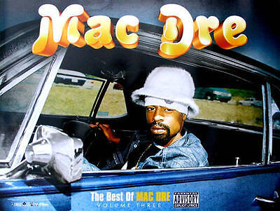 Mac Dre - The Best Of Mac Dre Volume 3 COLOR POSTER NEW + temporary (Best Of The Best 3)