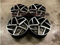 18 19″ Inch Golf GTi Dallas Style Wheels VW MK5 MK6 MK7 MK7.5 AUDI A3 CADDY VAN Leon 5x112