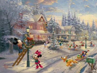 "Holidays, Disney ''Mickey's Victorian Christmas"", Kids Art, Cross Stitch Pattern"