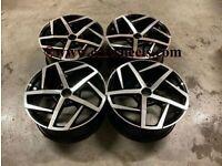 18 19″ Inch Golf GTi Dallas Style Alloy Wheels VW MK5 MK6 MK7 MK7.5 AUDI A3 CADDY VAN Leon 5x112