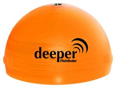 DEEPER NIGHT FISHING FISHFINDER COVER - BRIGHT ORANGE ITGAM0