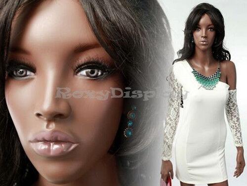 Female Fiberglass African style Mannequin Dress form Display #MZ-MYA2