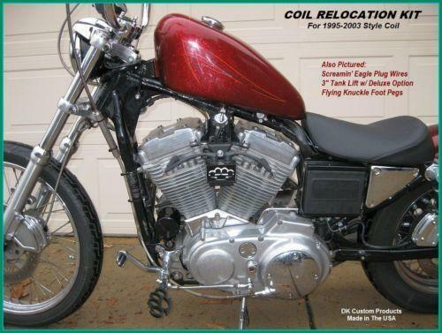 sportster coil relocation motorcycle parts ebay. Black Bedroom Furniture Sets. Home Design Ideas