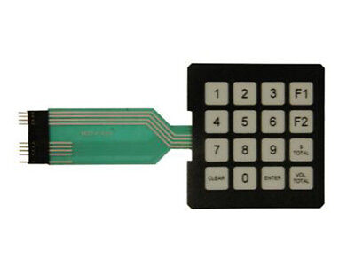 Gilbarco Encore M00147a001 Programmable Manager Membrane Switch Keypad