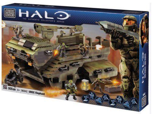 Lego Halo Toys : Halo mega bloks elephant ebay