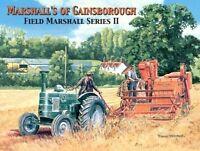 Clásico/vintage Tractor, Marshalls Of Gainsborough Country, Grande Metal / Lata - tractor - ebay.es