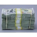 PROP MOVIE MONEY Fake Money $50k TRUE BLUE FILLER Bundle for movies, videos