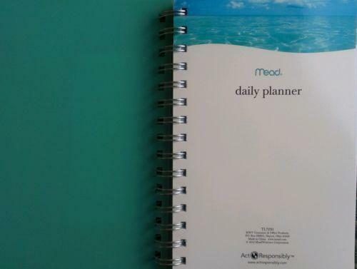 Mead Monthly Planner, January - December , /8