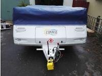 Conway Cruiser Folding Camper 2006 - Good condition £3000 ono