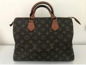 SOLD! Louis Vuitton Speedy 30 bag Authentic