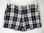 J Crew Plaid Shorts