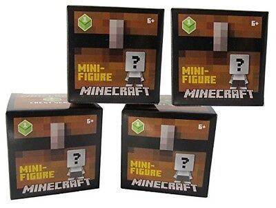 Minecraft Mini Figures Chest Series 4 Blind Pack - Styles May Vary