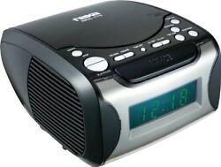 Naxa NAXNRC175B Digital Alarm Clock w/ Digital Tuning AM/FM Radio & CD Player