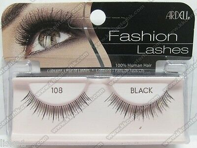 (Ardell 108 Fashion Natural Eyelashes (Black))