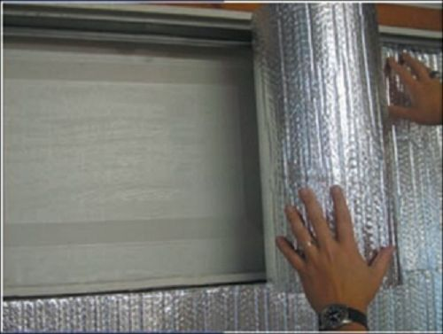 Nasa tech reflective foam core garage door insulation kit for 14x7 garage door