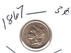 3c Nickels