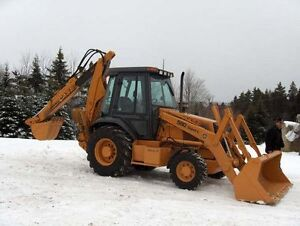 operator and backhoe for hire