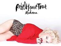 Madonna billets (Rouge) ****À RABAIS****