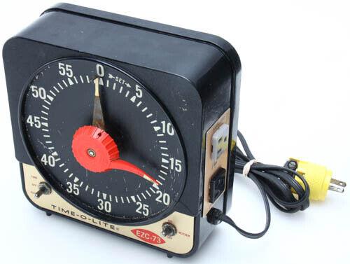 TIME-O-LITE EZC-73 Darkroom Industrial Enlarging Timer Tested 382025
