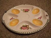 Servierplatte Eier