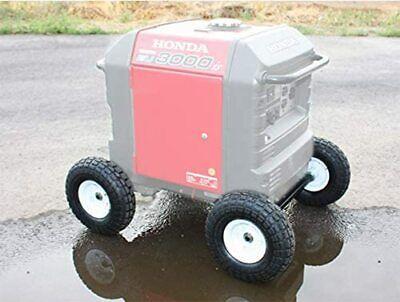Wheel Kit For Honda Generator Eu3000is All-terrain Never Flat Tires New