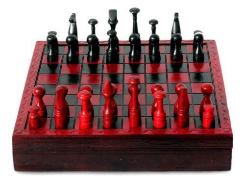 African Chess Set Ebay