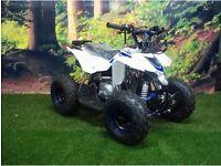 110cc thunderstarter kids quad bike - 4 stroke - automatic - adjustable throttle - electric start