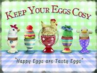 Hervida Huevos Clásico Británico Desayuno Huevera Alimentos Cocina Metal Pequeña -  - ebay.es