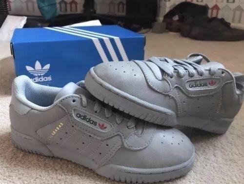 119a2fae10c1d Adidas Original YEEZY POWERPHASE CALABASAS GREY UK 6