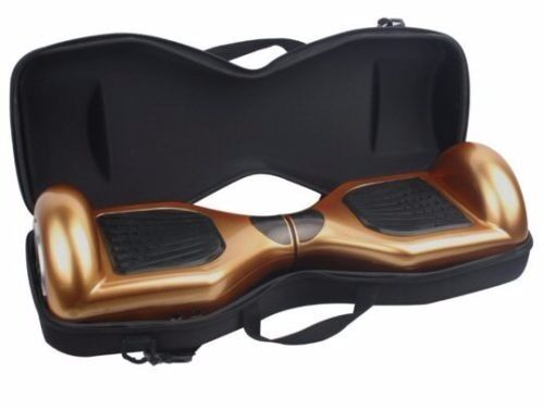 Deluxe Hard Carry Case For 6.5 inch Wheeled Hoverboard - Black