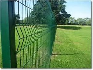 2.0m high V.Mesh Perimeter Security Mesh Fencing PPC GREEN (6ft.6inches)
