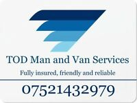 TOD Man and Van Services - Chester, Wrexham, Deeside, Ellesmere Port, Saltney, Lache, Flint, Mold