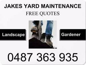 Jake's Yard Maintenance Gravelly Beach West Tamar Preview