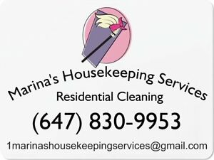 CLEANING SERVICES- CONDO, HOUSE, APARTMENT