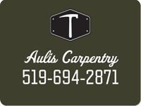 Aulis Carpentry