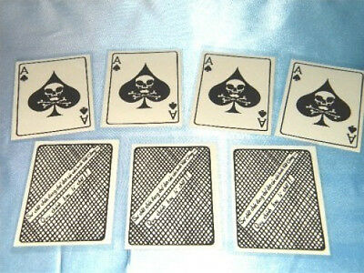 Vietnam War Ace Of Spades    Death Card   12  Each For  Only  12 95 In Plastic