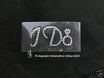 """Aufkleber Brautschuhe Strass-Sticker """"I Do"""" Crystal Braut Hochzeit Karostonebox gebraucht kaufen  Adelshofen"""