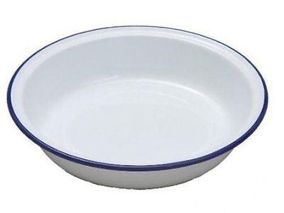 309698 Falcon Enamel 14cm Round Pie Dish