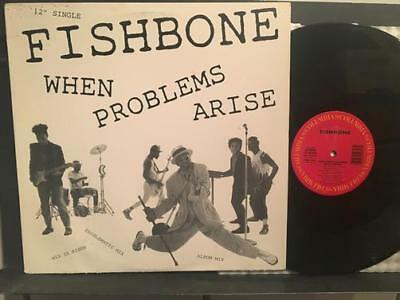 FISHBONE WHEN PROBLEMS ARISE~1986 PROMO 12