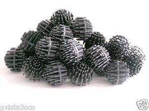 1500 jumbo 1 5 bio balls pond filter media 4 koi for Pond bio balls cleaning