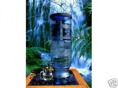 New Berkey Light Water Filter System w/ 3 Flaunt Berkey Water Bottles
