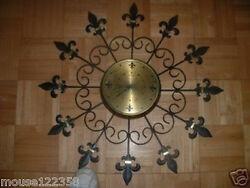 HUGE Retro starburst wall clock EAMES ERA Wall Hanging