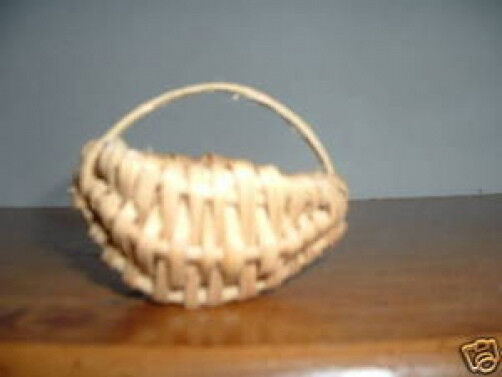 Vintage Split oak  Basket   Cute minature