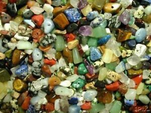 250-Mixed-Genuine-Gemstone-Chip-Beads