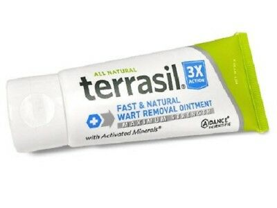 Wart Care - Terrasil Fast & Natural - Maximum Strength - Wart Care - Doctor Recommended