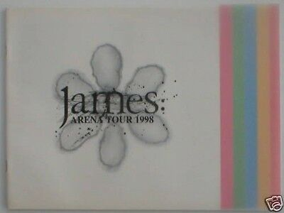 JAMES arena tour 1998 tour programme 24 pages
