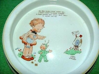 Shelley Baby Bowl Mabel Lucie Attwell Boo Boo's House