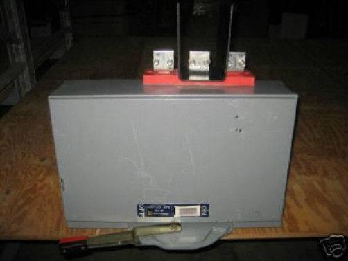 Square D Qmb326mw 600 Amp 240 V E2 Qmb Fusible Switch Qmb326-mw Panel Qmb326m-w