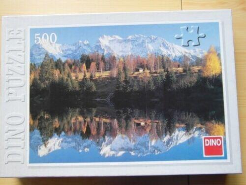 DINO Ravensburger Puzzle Werdenfels Geroldsss 500 Teile Berge See Landschaft