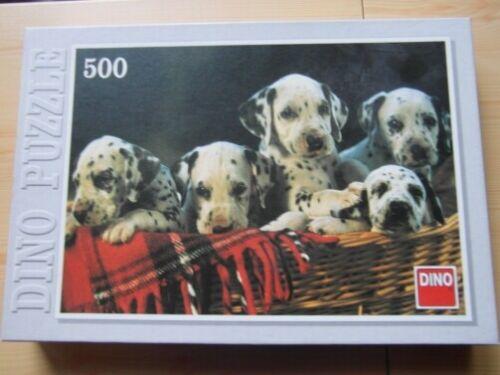 DINO Ravensburger Puzzle Dalmatiner Welpen 500 Teile Hund Welpe Tierpuzzle Tiere